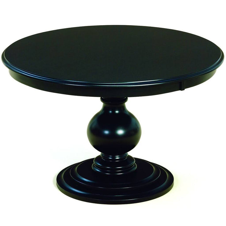 Stanton Single Pedestal Extension Table Amish Tables