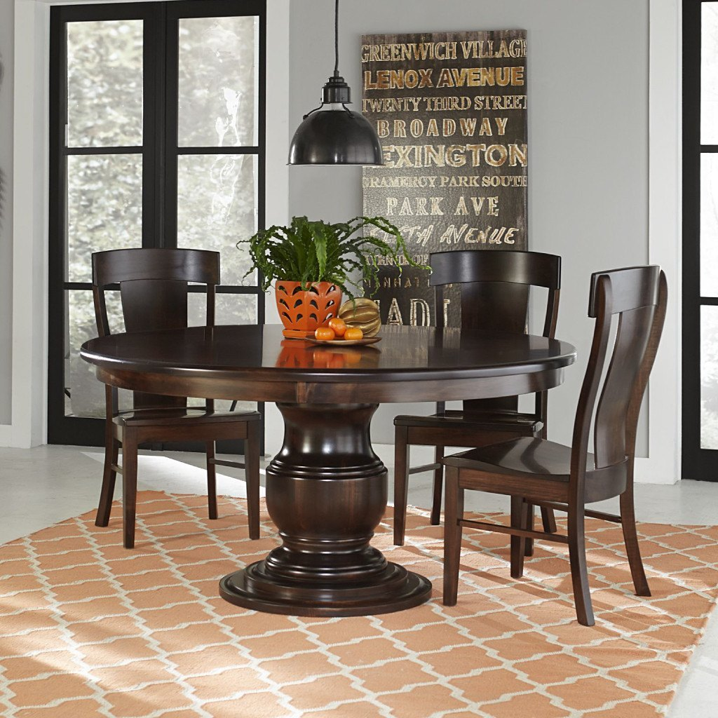 Ziglar Single Pedestal Extension Table