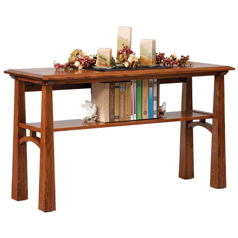 Artesa Sofa Table - Amish Tables  - 1