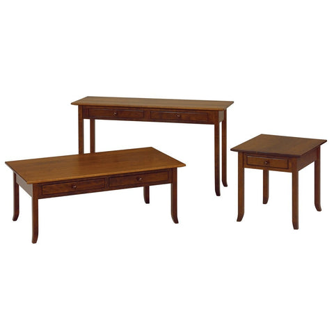 Brookline Sofa Table - Amish Tables  - 1