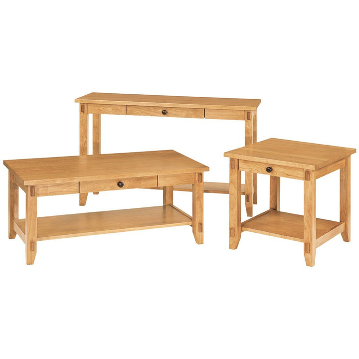 Bungalow Sofa Table - Amish Tables  - 1