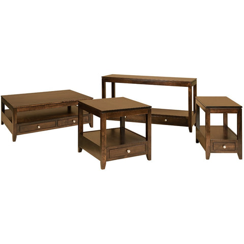 Camden Sofa Table - Amish Tables  - 1