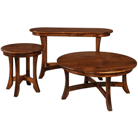 Carona Sofa Table - Amish Tables  - 1