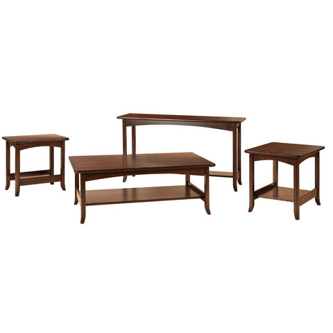 Lakeshore Sofa Table - Amish Tables  - 1