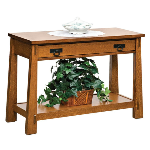 Modesto Sofa Table - Amish Tables  - 1