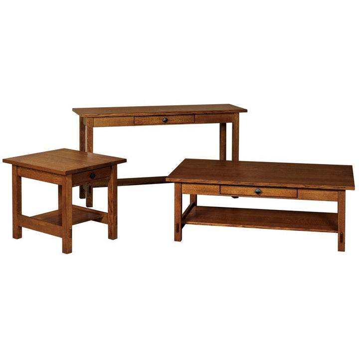 Springhill Sofa Table - Amish Tables  - 1