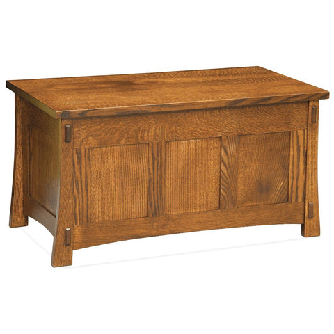 Modesto Cedar Chest - Amish Tables  - 1