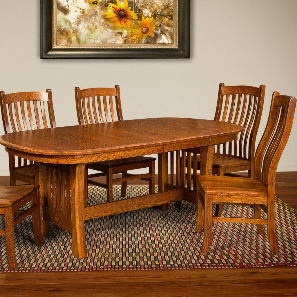 ... Trestle Table   Arts And Crafts Trestle Extension Table ...