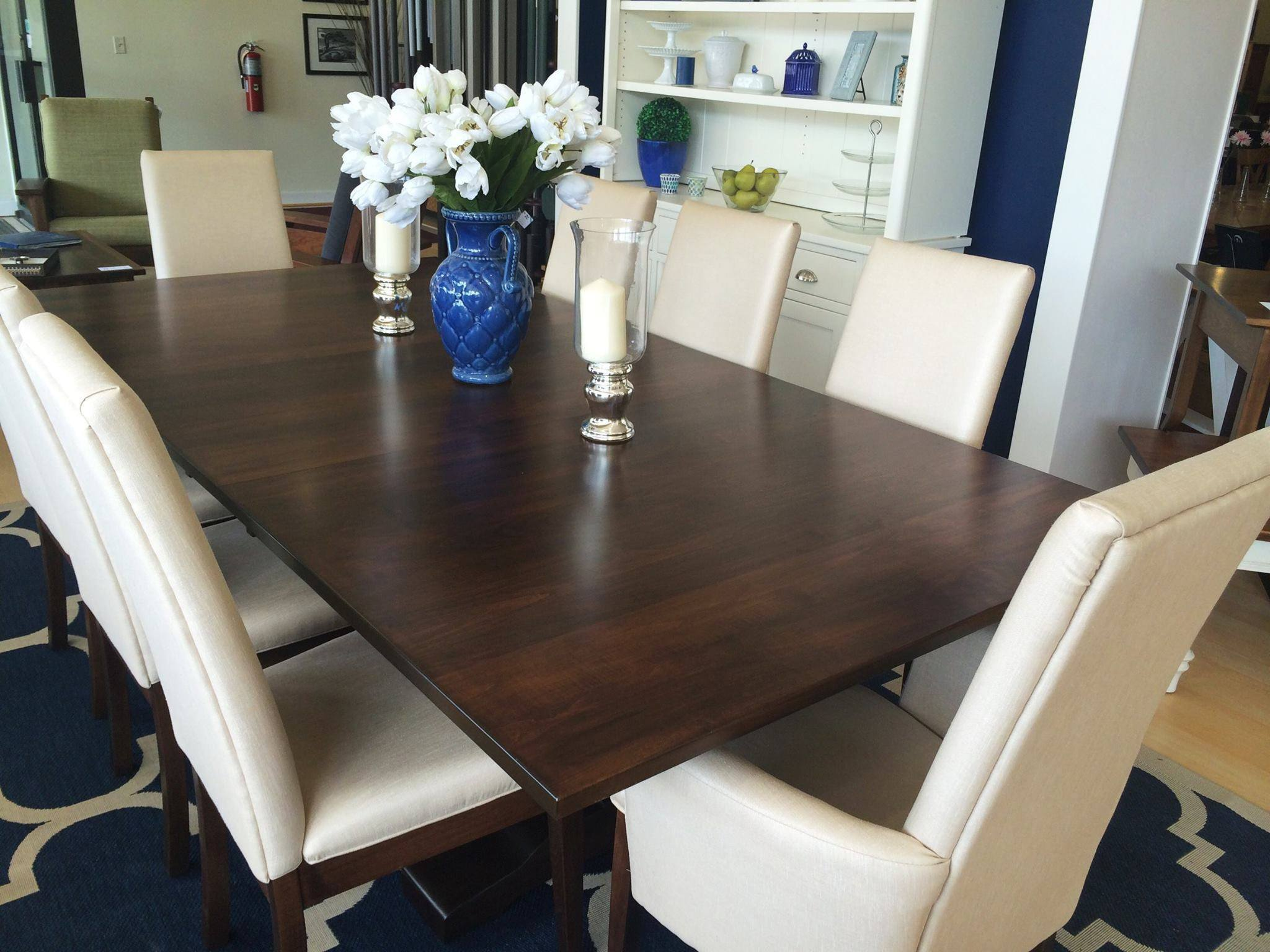 Bradbury Trestle Extension Table | Amish Dining Tables – Amish Tables