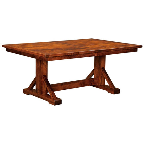 Chesapeake Trestle Extension Table - Amish Tables  - 1