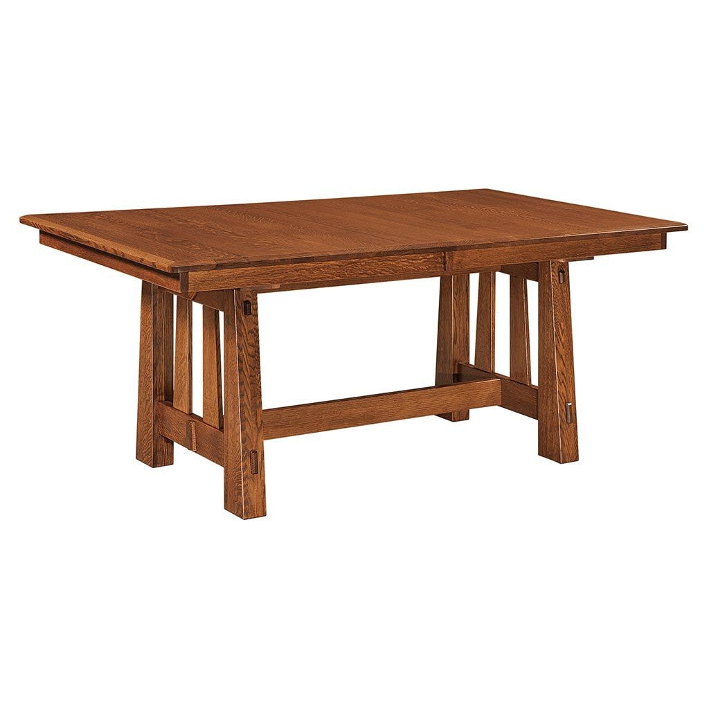 Trestle Table Amish Dining Room: Fremont Trestle Extension Table