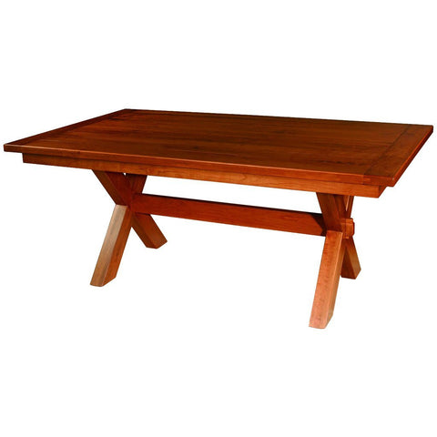 Frontier Trestle Extension Table - Amish Tables  - 1