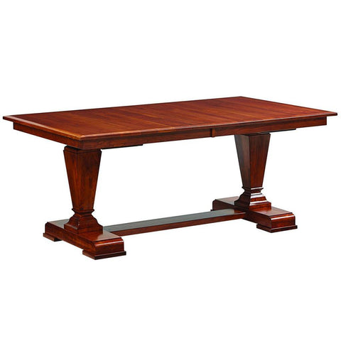 Fulton Trestle Extension Table - Amish Tables  - 1