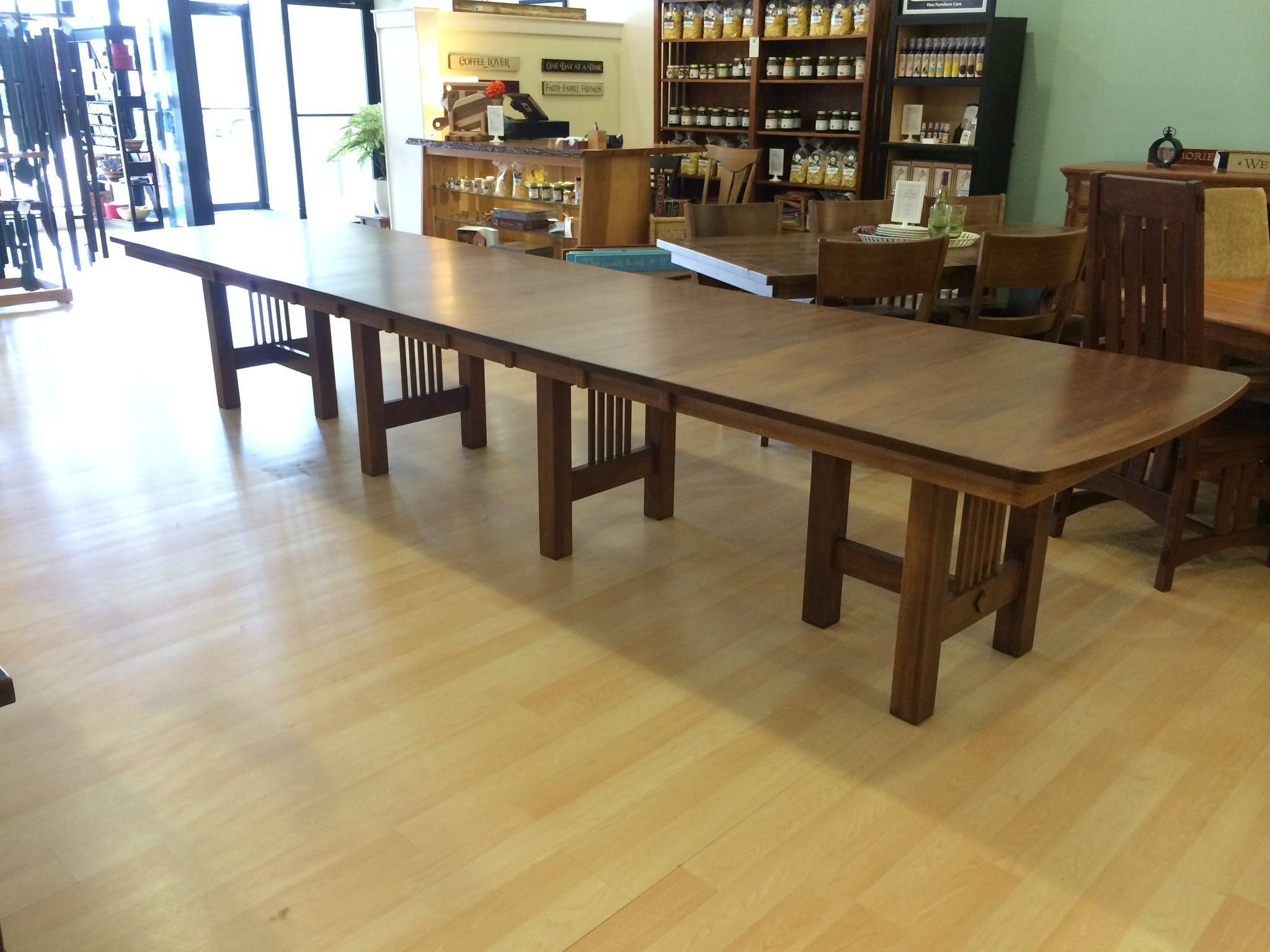 Hartford Trestle Extension Table