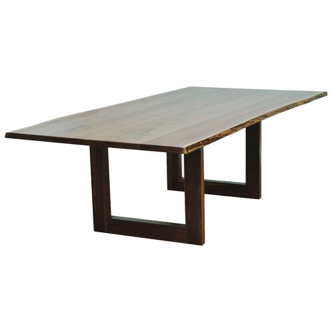 Kalispel Trestle Live Edge Table - Amish Tables  - 1