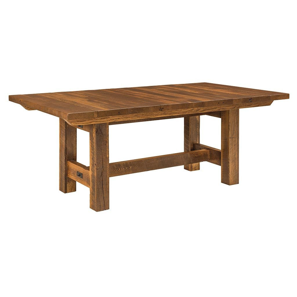 Trestle Table Amish Dining Room: Lynchburg Trestle Extension Table