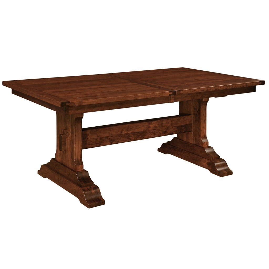 Trestle Table Amish Dining Room: Manchester Trestle Extension Table