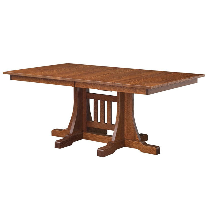 Ridgecrest Trestle Extension Table - Amish Tables  - 1