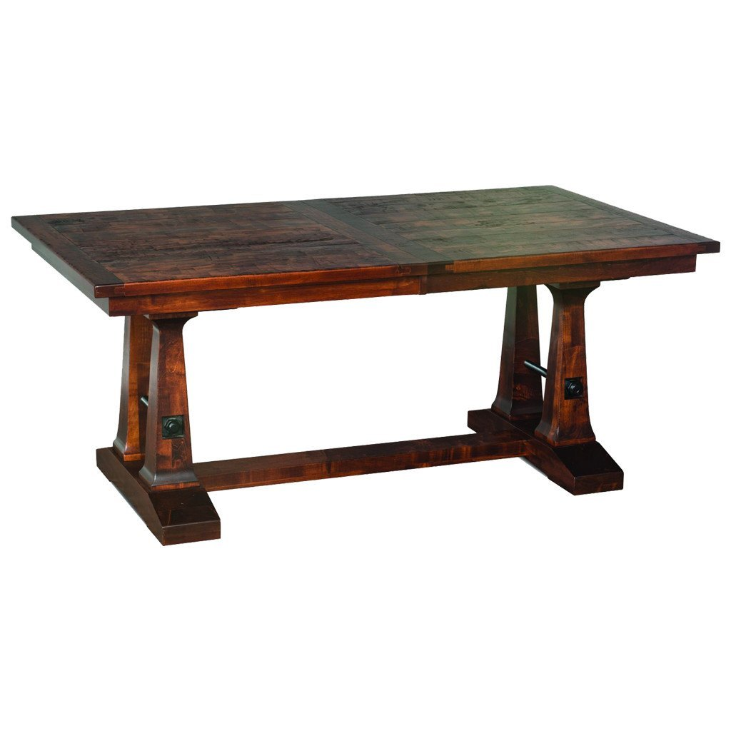 Vienna Trestle Extension Table   Amish Tables   1 ...