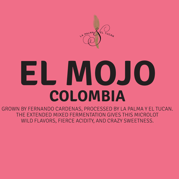 Colombia - La Palma & El Tucán - El Mojo Mixed Fermentation Process