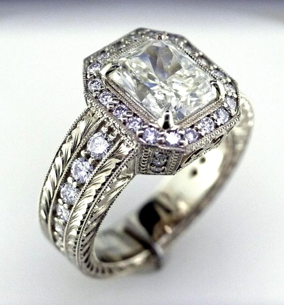 Custom 4.02 Ct Diamond Ring