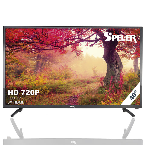 "40"" LED 720p HD TV 