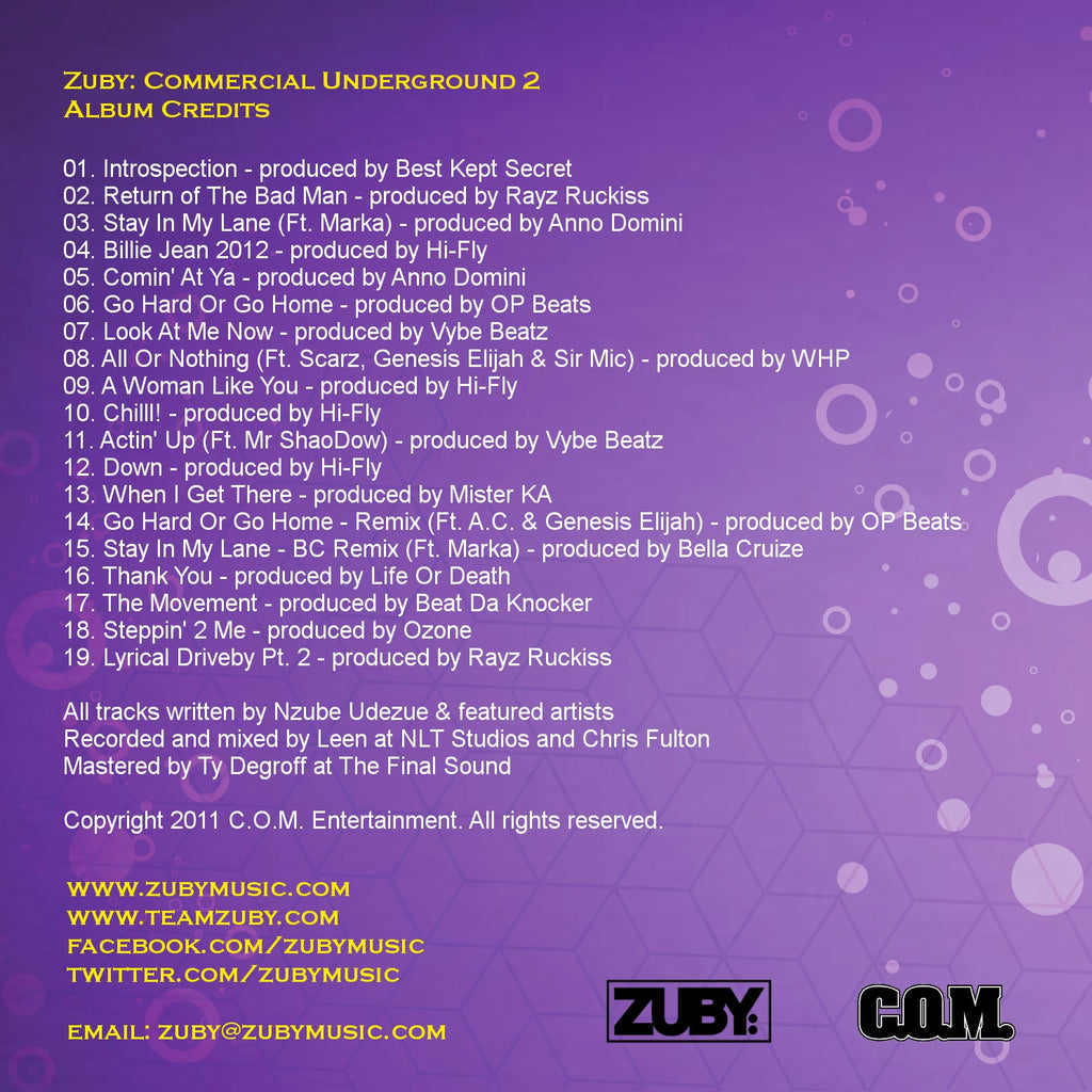 Commercial Underground 2 (LP)