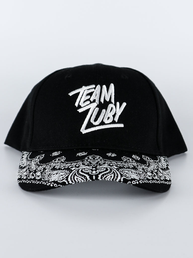 Team Zuby Cap (Black Paisley)