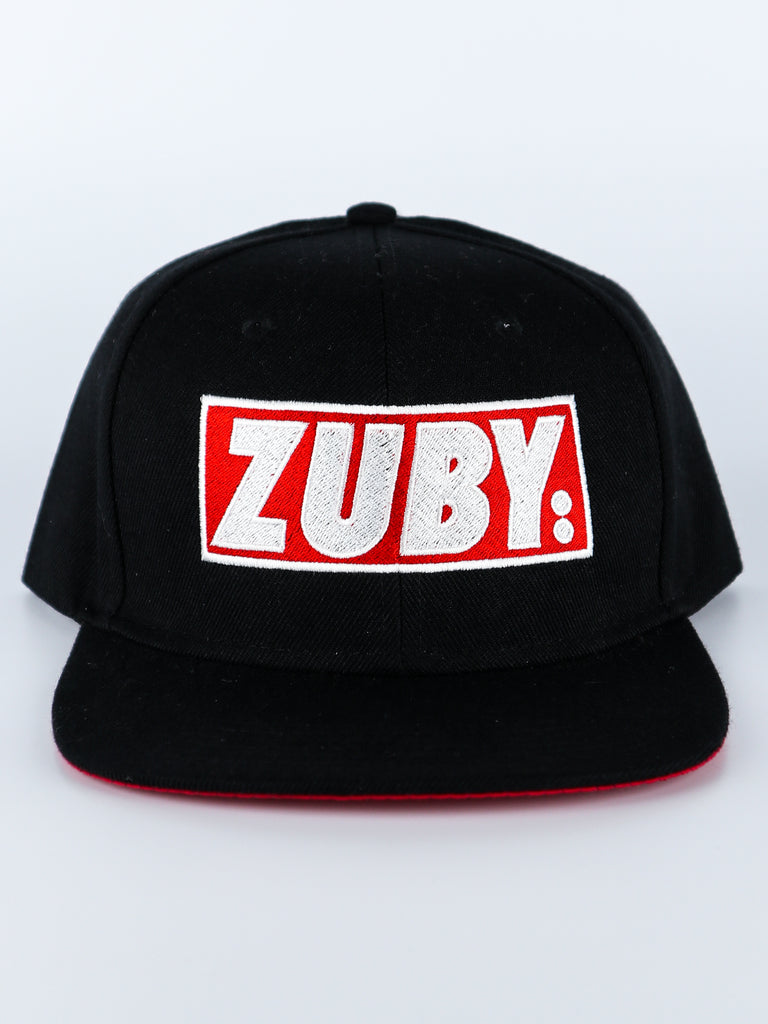 Zuby Snapback Cap (Black/Red)