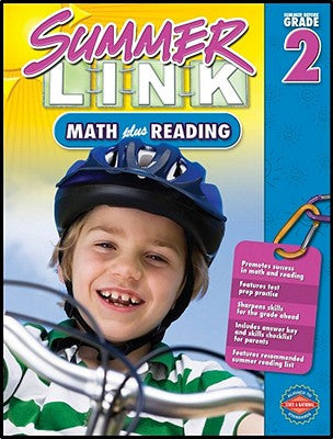 Summer Link - Summer before Grade 2