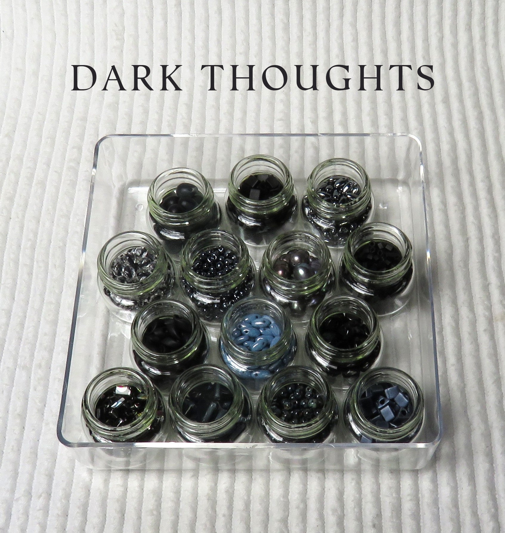 Dark Thoughts Large Bead Collection and Book