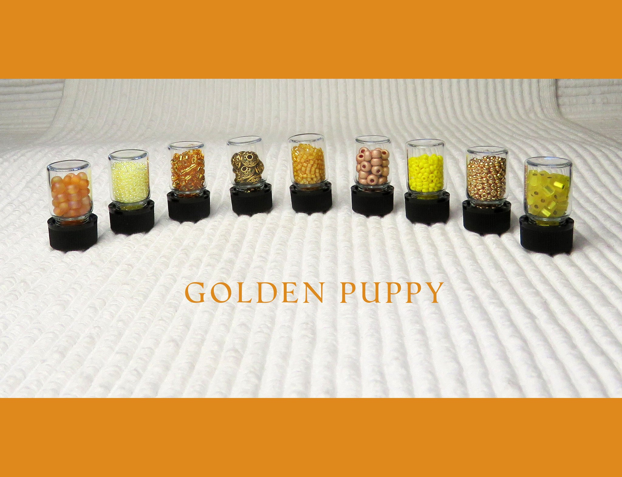 Golden Puppy Bead Collection and Book