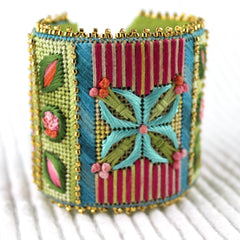 Flower Cuff - Needlepoint Kit