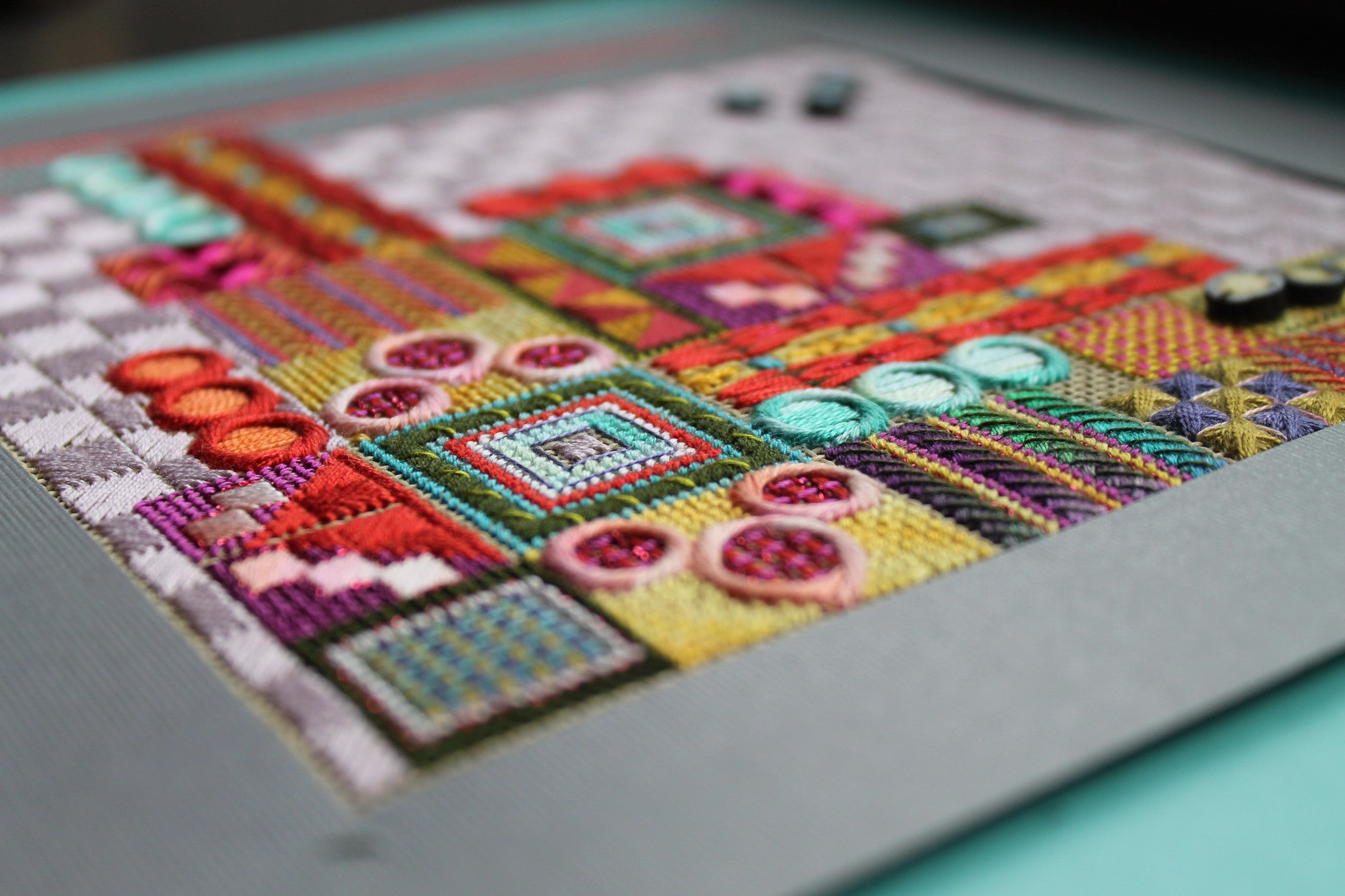 The House I Built - Needlepoint Kit