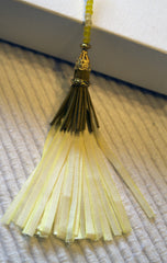Mellow Yellow - Silk Ribbon Tassel Kit