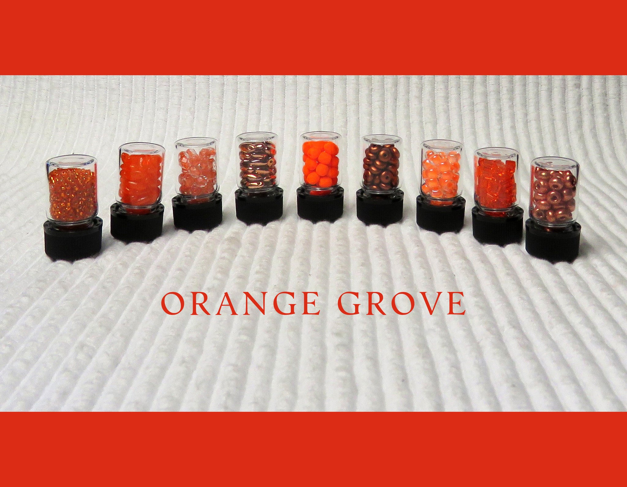 Orange Grove Bead Collection and Book