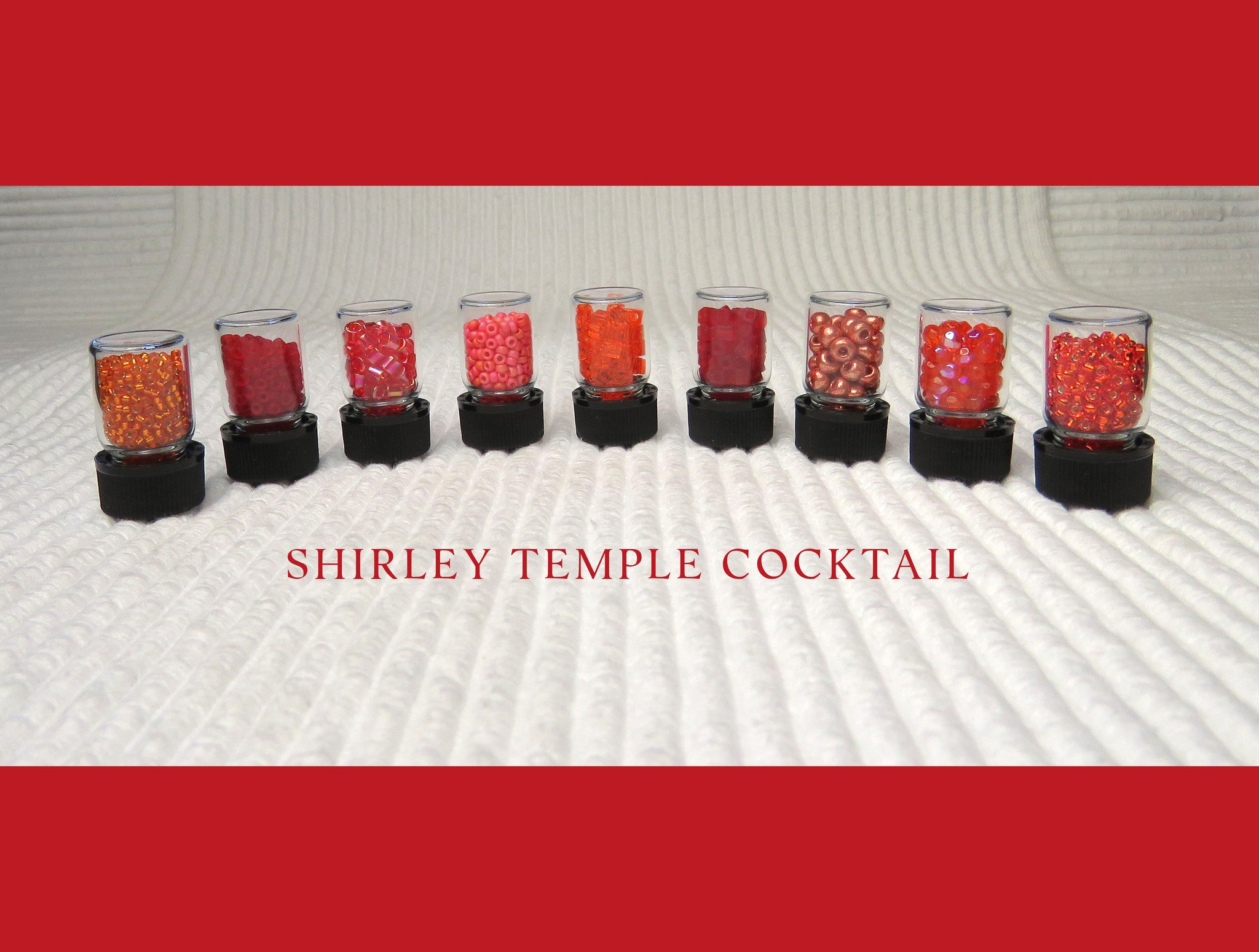 Shirley Temple Cocktail Bead Collection and Book