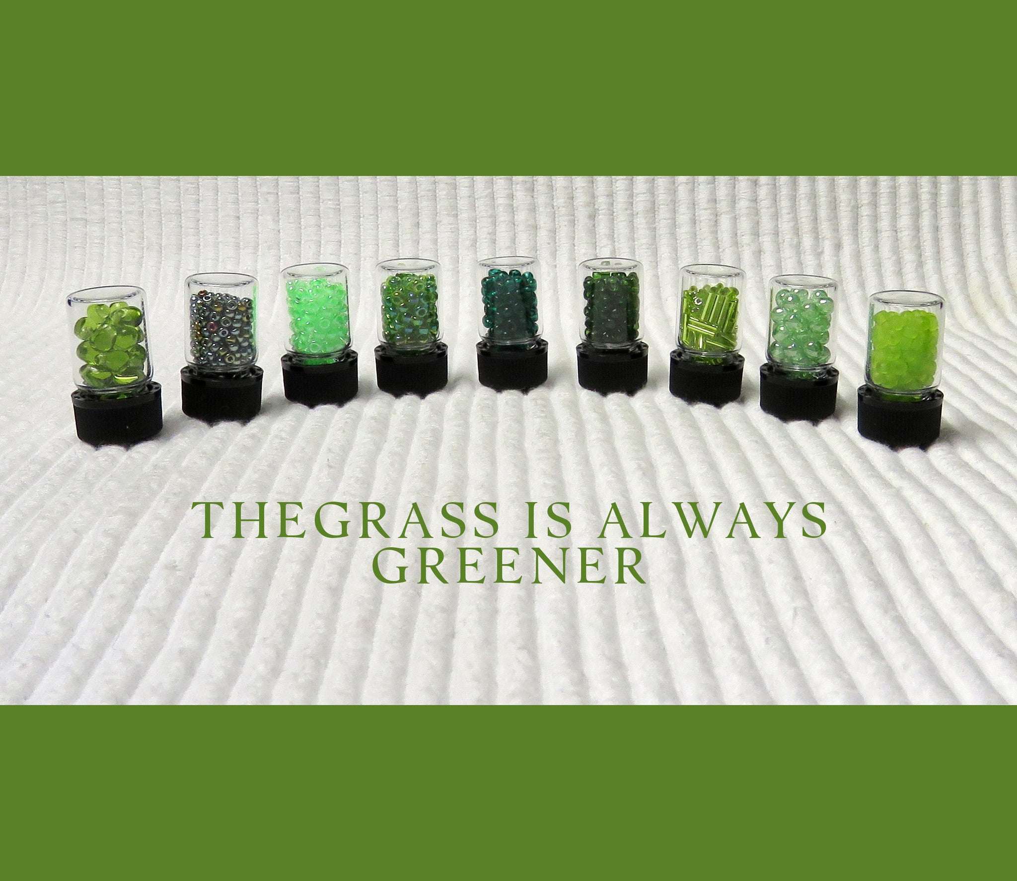 The Grass is Greener Bead Collection and Book
