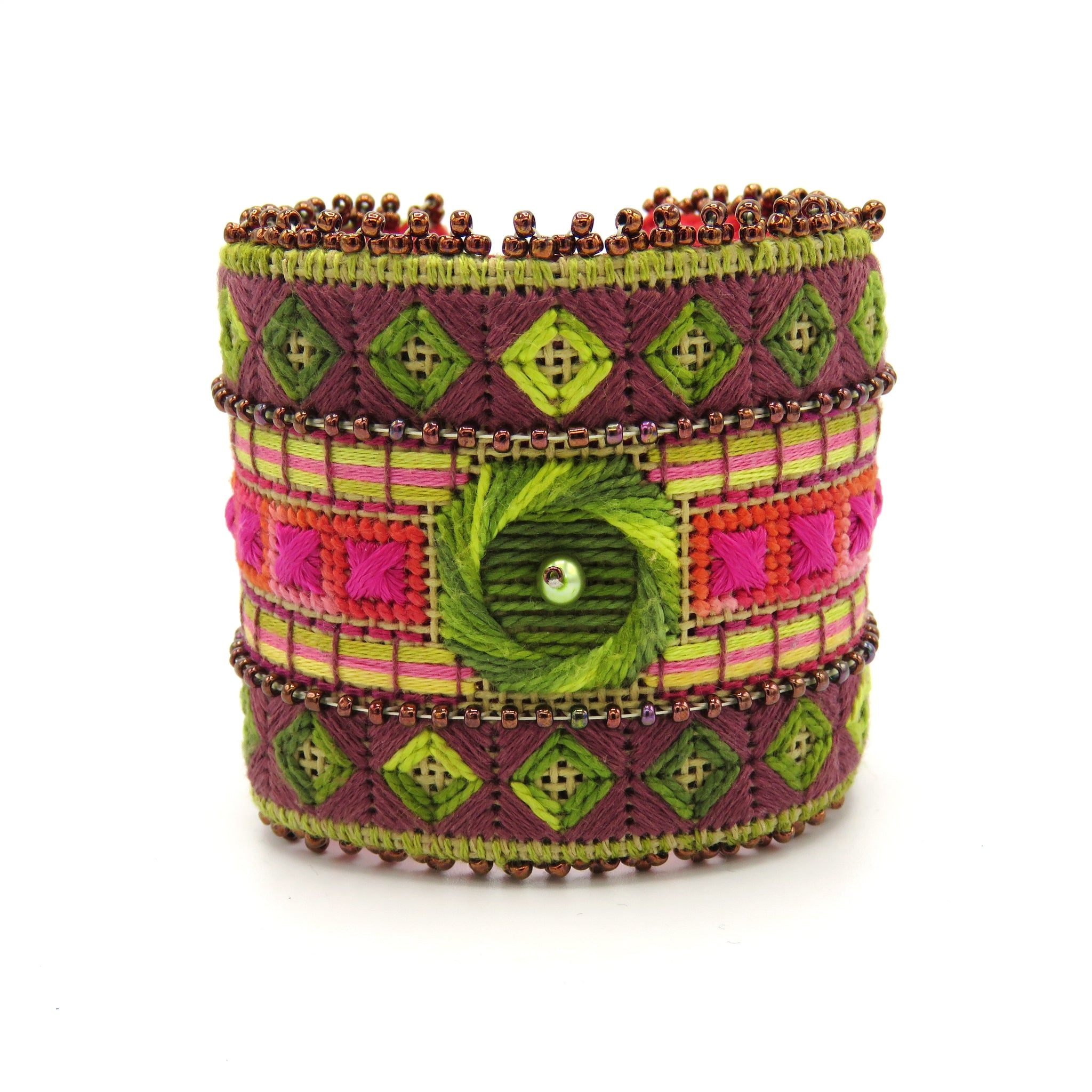 Tree Cuff - Needlepoint Kit