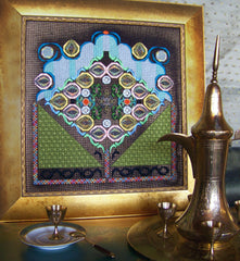 Window in the Old City by Night - Needlepoint Kit