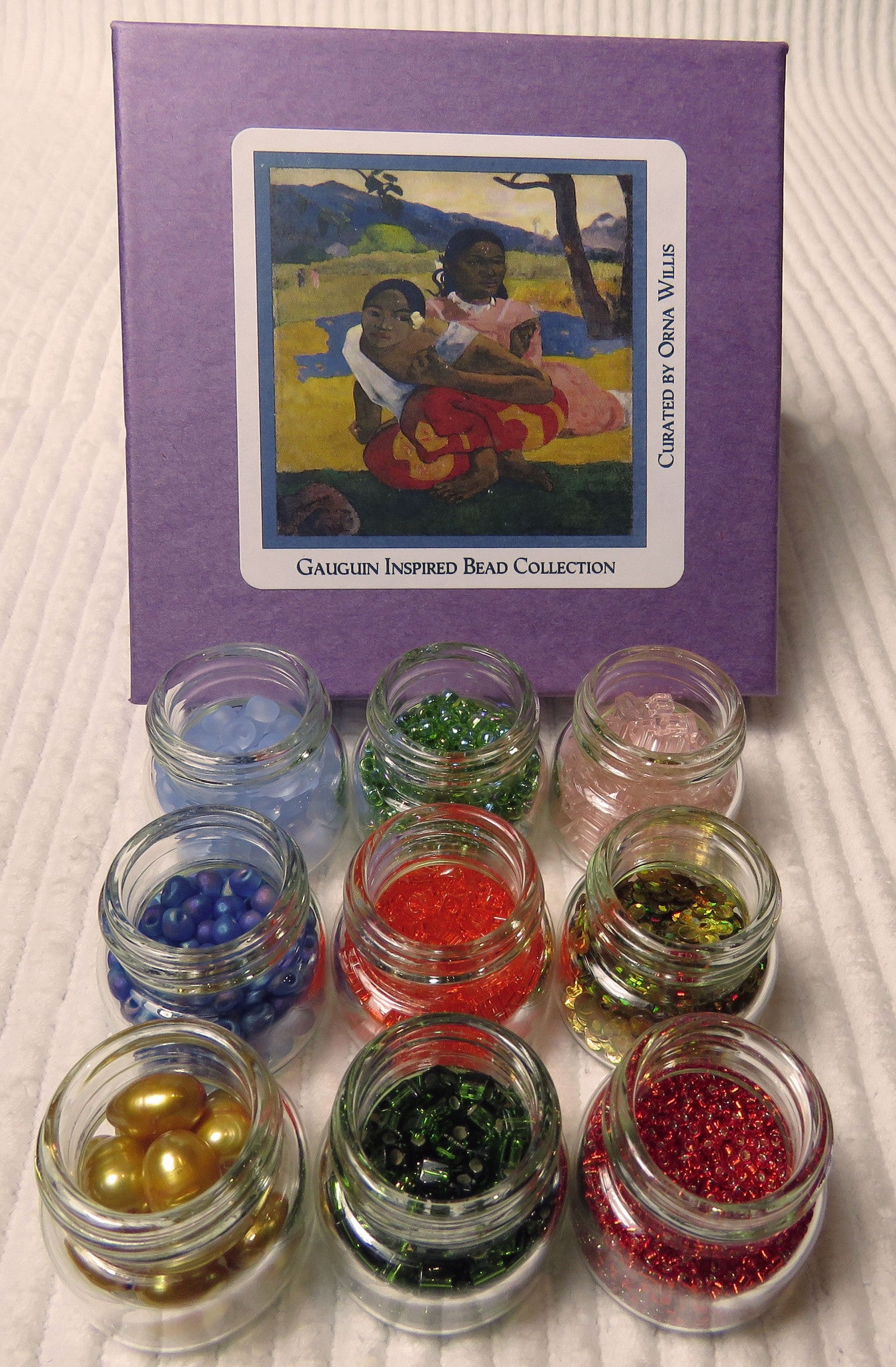 Artist Series: Gauguin Large Bead Collection and Book