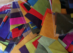 Ultrasuede Large Pack - Large Scraps