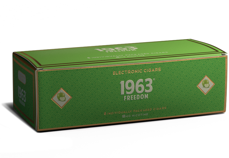 E-Cigar: Freedom  [apple] - Cigar Cartons