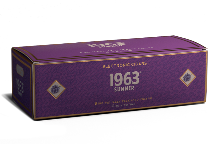 E-Cigar: Summer  [grape] - Cigar Cartons