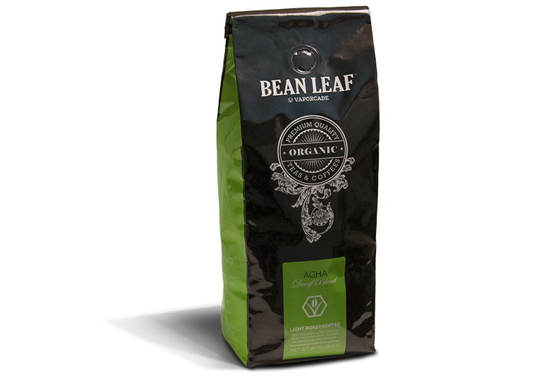 Bean Leaf Coffee: Agha, Decaf Signature Blend