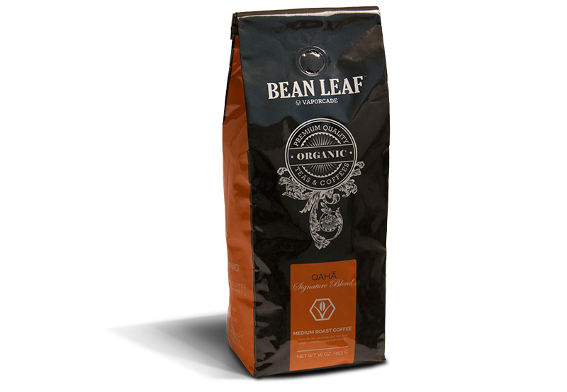 Bean Leaf Coffee: Qaha, Medium Roast
