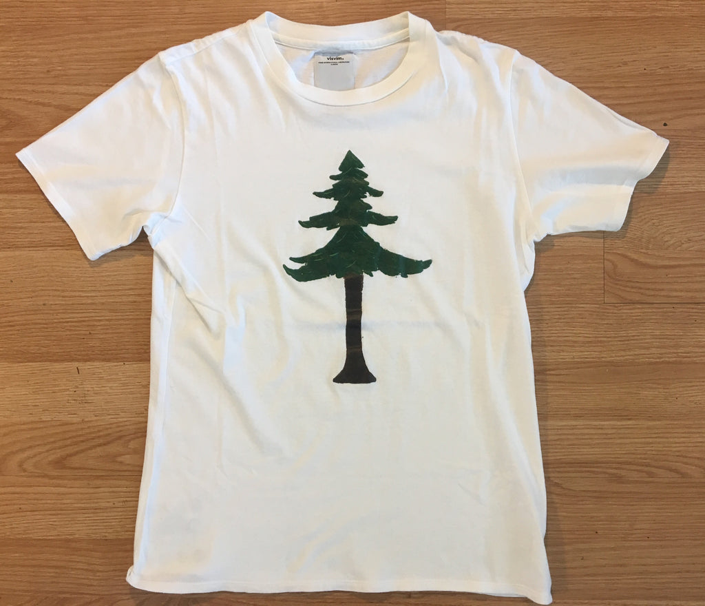 "Visvim ""painted tree"" tee Small"