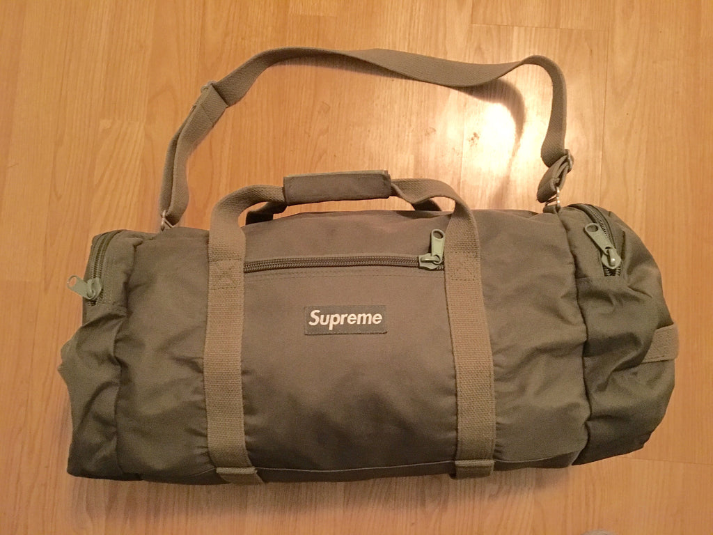 Supreme duffle bag from late 90s
