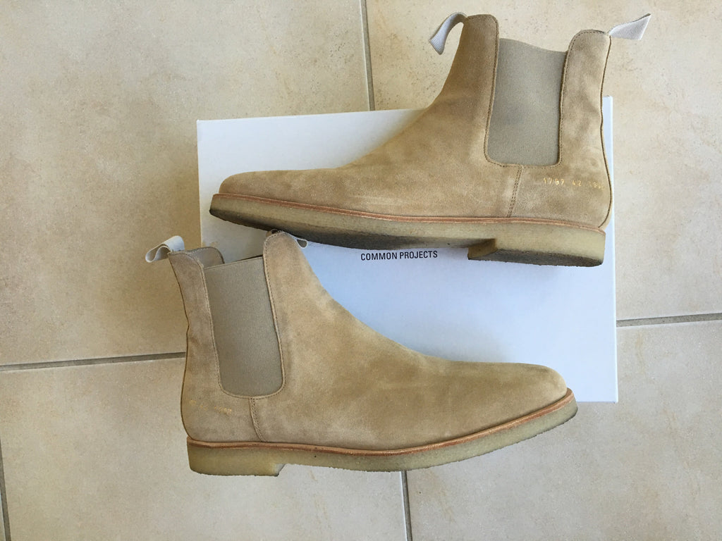 Common Project Chelsea boots 42