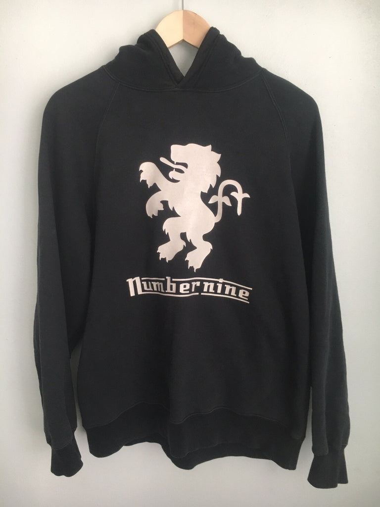 Number (N)ine Lion emblem hoody large
